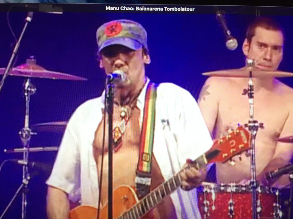 Manu Chao y la camiseta de Maradona (final) ~ Una pausa en ...
